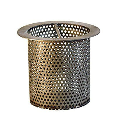 4 Quot Commercial Floor Drain Strainer Perforated Stainless Steel 4 Quot Tall Commercial Flooring Floor Drains Flooring