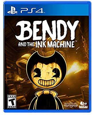 Amazon Com Bendy And The Ink Machine Ps4 Playstation 4 Video