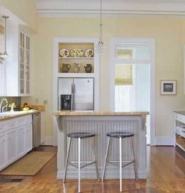 Pale Yellow Kitchen Cabinets Google Search Cheap Kitchen Remodel Budget Kitchen Remodel Yellow Kitchen Walls