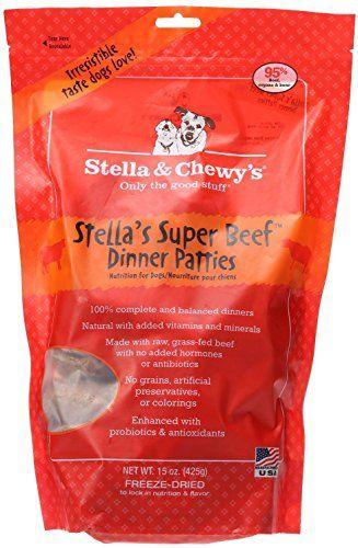 Stella Chewy S Freeze Dried Raw Stella S Super Beef Dinner