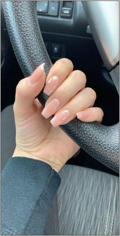 73 acrylic nail designs of glamorous ladies of the summer season page 30 73 Acrylnageldesigns glamouröser Damen der Sommersaison Seite 30 Best Acrylic Nails, Summer Acrylic Nails, Summer Nails, Natural Acrylic Nails, Natural Color Nails, Short Square Acrylic Nails, Simple Acrylic Nails, Acrylic Nail Shapes, Spring Nails