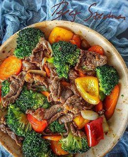 Beef Szechuan Di 2020 Resep Masakan Masakan Asia Resep Masakan Asia