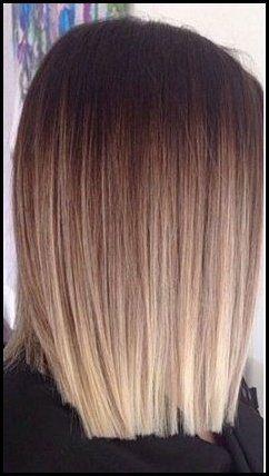 Tolle Haarfarbe Option Balayage Auf Bob Haarschnitte Frisuren Balayage Haarfarben