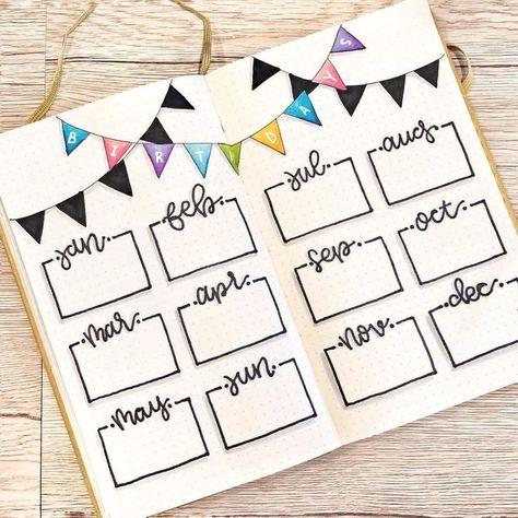 Inspirtion Bullet Journal Ideas For Beginners In Pinterest You'll Love To Insp... - Home Decor
