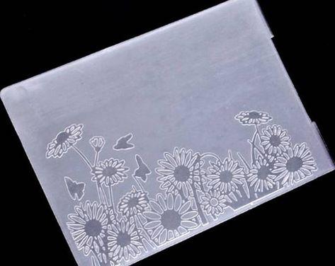 1pc Sunflower Design Metal Cutting Dies For DIY Scrapbooking Album Paper Cards J