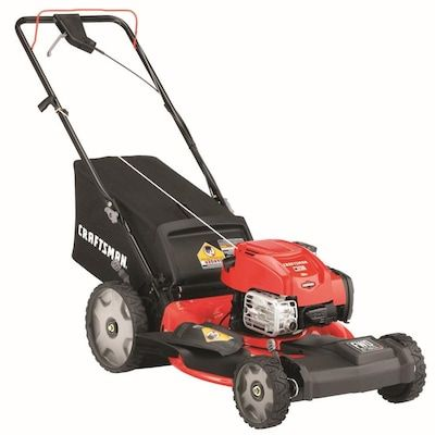 Craftsman M230 163 Cc 21 In Self Propelled Gas Push Lawn Mower With Briggs Stratton Engine At Lowes Com In 2020 Push Lawn Mower Lawn Mower Briggs Stratton