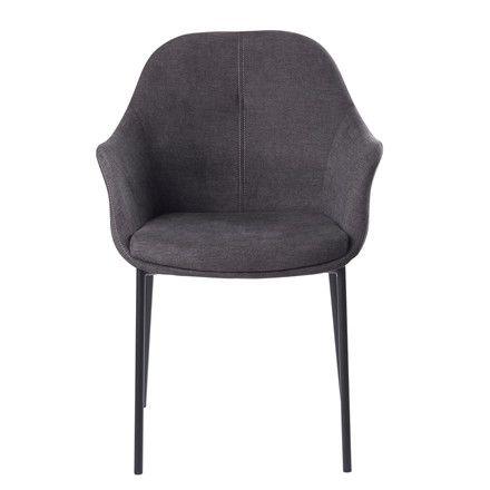 NEW AGE mørkegrå stof stol | New age, Spisebordsstol, Stole