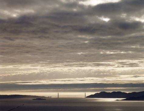 Photographer Richard Misrach shot the Golden Gate Bridge for three years from his front porch.