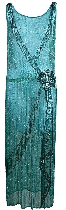French 1920's Flapper Dress