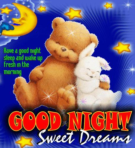 A Good Night Sleep.