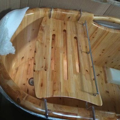 Alfi Brand Wooden Over The Tub Portable Bath Caddy | Bath caddy and ...