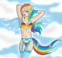 My little pony rainbow dash sexy