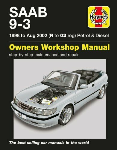 Details About Saab 9 3 Petrol And Diesel By Haynes Publishing 9781785212772 Brand New Saab 9 3 Saab Diesel