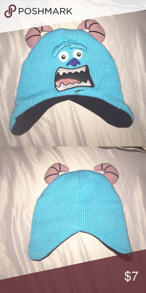 Monster inc. beanie Sullivan from Monster inc blue beanie. Never been worn Accessories Hats
