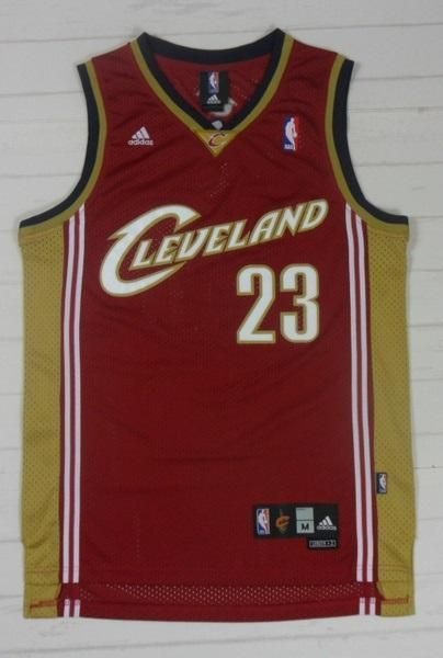 hot sale online 0a9ab afc2f Men 23 Lebron James Swingman Jersey Red Cleveland Cavaliers ...