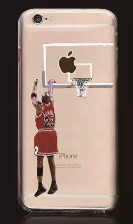 Coquefone Coque iPhone 6/6S Jordan Bulls NBA Basket Panier ...