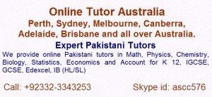 Pakistani Tutors In Australia Online Tuition Australia We Are