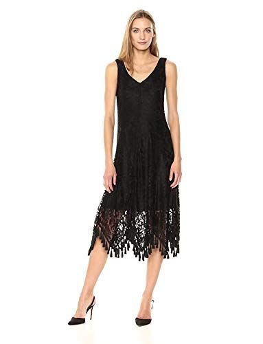 New Taylor Dresses Womens Lace Sleeveless Midi Dress Online