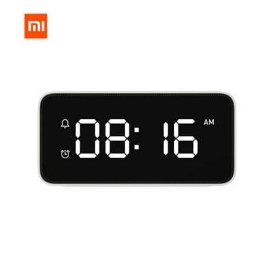 Xiaomi Mi Jia Xiaoai Intelligent Voice Broadcast Alarm Clock With Mi Home Application In 2020 Alarm Clock Clock Smart Alarm