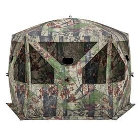 Ardisam Pentagon Bloodtrail Backwoods Camo Large Ground Hunting Blind 2 Pack 111341 Hunting Ground Blinds Hunting Blinds Ground Blinds