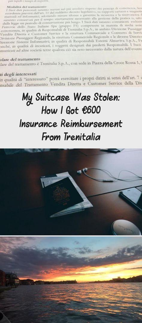 My Suitcase Was Stolen: How I Got €600 Insurance Reimbursement From Trenitalia   Em Around the World #reisenZeichen #reisenSymbole #reisenStrand #reisenAbenteuer #reisenAmerika