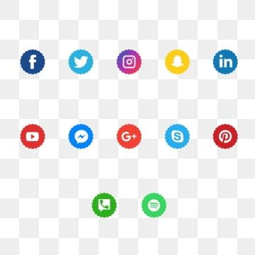 Social Media Icons Social Media Social Media Logo Png Transparent Image And Clipart For Free Download In 2020 Social Media Icons Free Social Media Icons Icon Set Design
