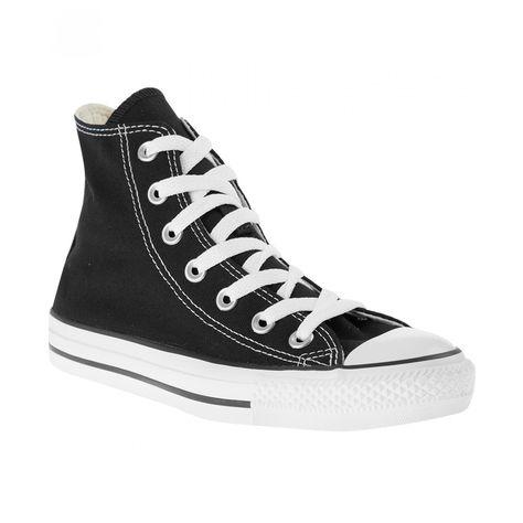 3d03aa20 Tenis Converse tipo bota elaborado en textil color negro con punta  reforzada y redondeada agujetas en empeine pespuntes a contraste logo de la  marca ...