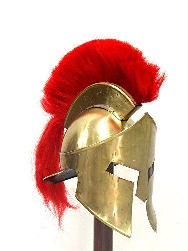 Roman Gladiator Armor Helmet Movie Replica Helmet Spartan Knight Helmet