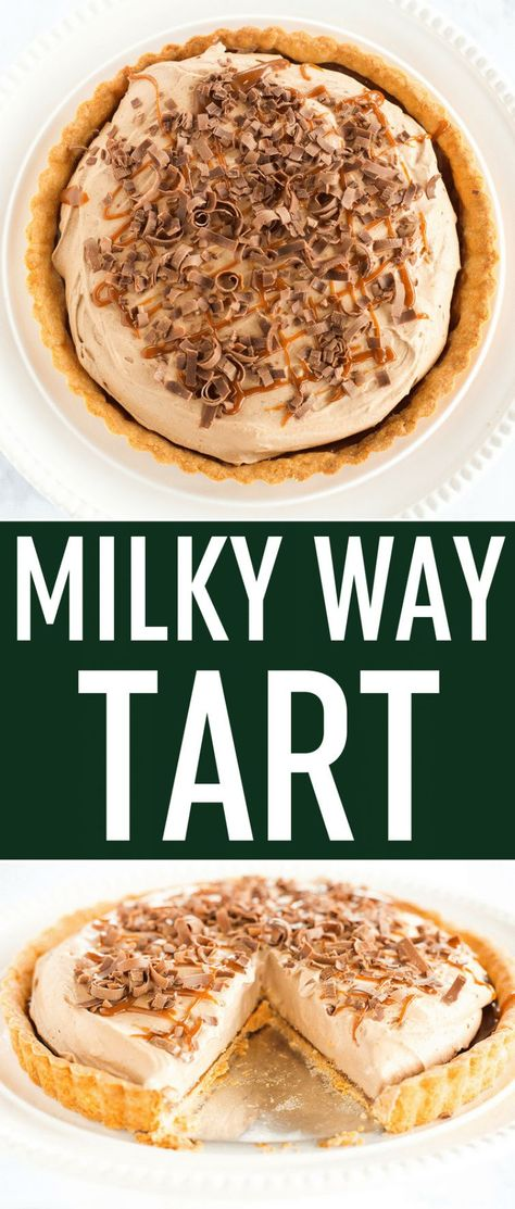 Milky Way Tart   Brown Eyed Baker