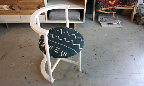 White And Teal Neptune Chair Nightwoodnightwood Furniture