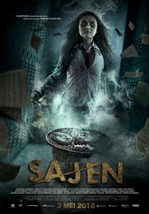 Sajen 2018 Indonesia Horror S Movie About Bullying Too Drama I Think But You Can Get The Messages F Horror Movie Posters Movie Poster Project Horror Movies