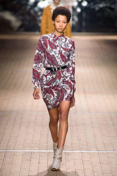 Isabel Marant at Paris Fashion Week Fall 2018 - Every Gorgeous Fall 2018 Runway Dress From Paris - Photos