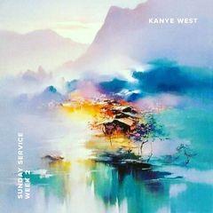 Kanye West Sunday Service Week 2 2019 Landscape Art Abstract