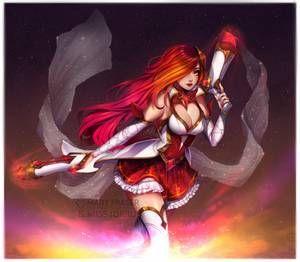 Miss Fortune Guardiana Estelar League Of Legends Poppy Lol League Of Legends League Of Legends