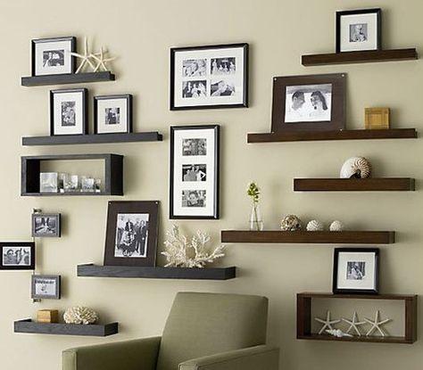 Gambar Hiasan Dinding Ruang Tamu Yang Cantik Namun Mudah Dibuat Pinterest