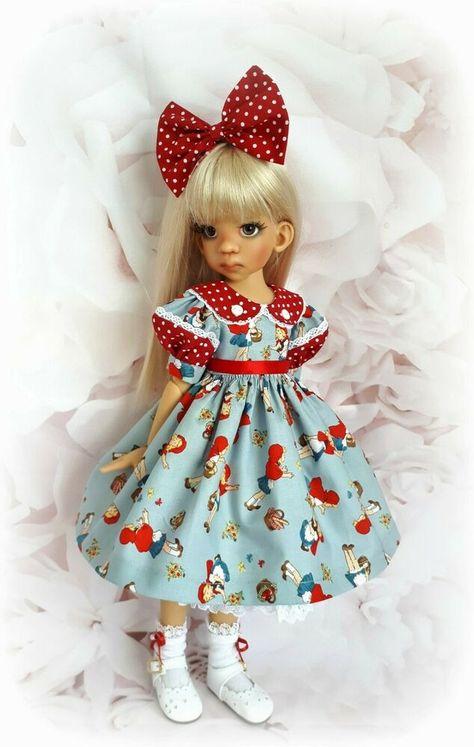 "Little Darling /& 11 Dianna Effner 11/"" Porcelian Dolls /""Side Tie Shoe/"""