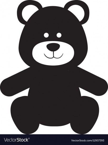 Teddy Bear Silhouette Bear Silhouette Bear Vector Teddy Bear