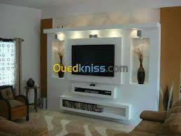 Meuble Tv Ba13 Simple Recherche Google In 2020 Wall Tv Unit Design Tv Stand Designs Living Room Tv Unit Designs