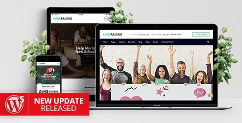 New Version: v1.6.1 | Changelog Why Fundraising Theme? Our demos will quickly show you a lot of reasons why Fundraising is probably the most compact, user friendly Charity/Donation WordPress Theme ... #crowdfunding #fundraising #redux #themeforest #charity #events #shop #nonprofit #responsive #donation #event