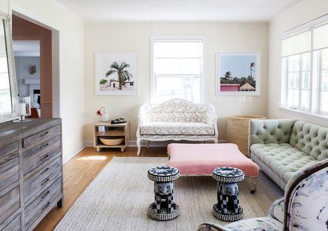Sitting Pretty - A Creative Director's Modern-Meets-Global Beach House - Photos