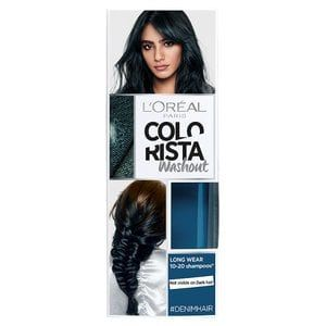 Colorista Washout Denim Blue Semi Permanent Hair Dye With Images