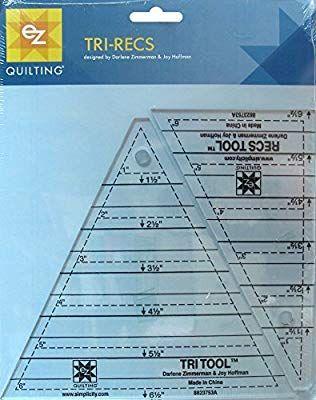 8829421 A EZ 45 degrés Triangle Acrylique Quilting modèle