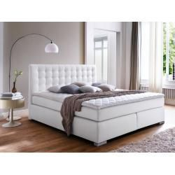 Isabell Plus Boxspringbett 160 X 200 Cm Mobel Einsmobel Eins Boxspringbett Designdecasa In 2020 Box Spring Bed Simple Furniture Leather Bed