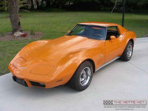 1977 T Top Corvette
