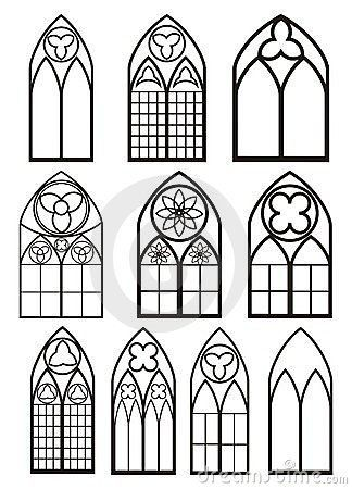 Windows In Gothic Style By Irop Via Dreamstime