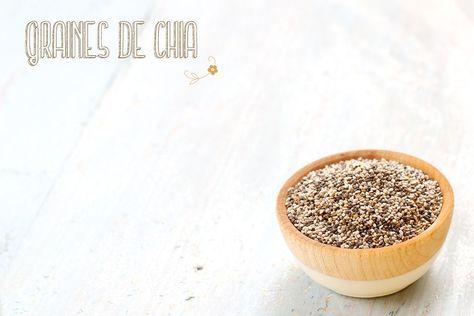 {Graines de chia} Définition, propriétés nutritionnelles, utilisations en cuisine sur http://www.chaudron-pastel.fr