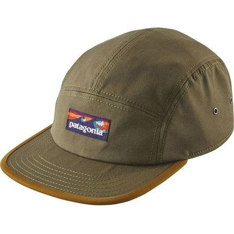 71d28685 Patagonia Board Short Label Tradesmith 5-Panel Cap ($35) ❤ liked on  Polyvore featuring accessories, hats, five panel hat, 5 panel cap, five  panel cap, ...