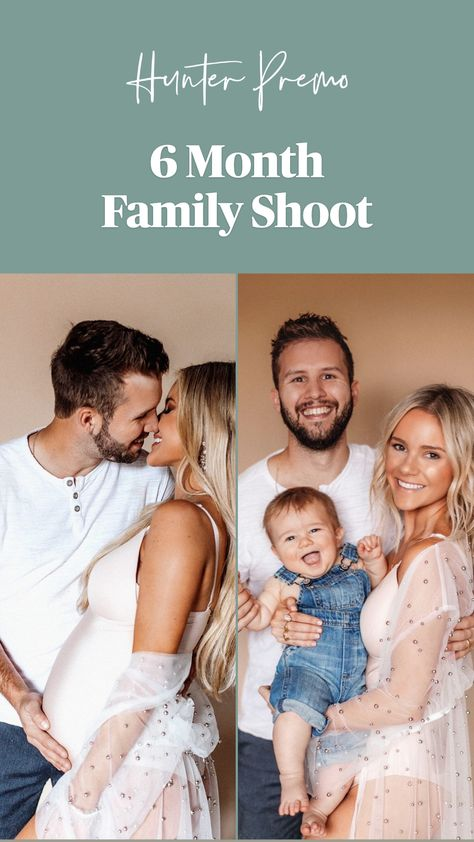 6 Month Family Shoot