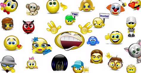 Animated Emoticons - Talking Smileys