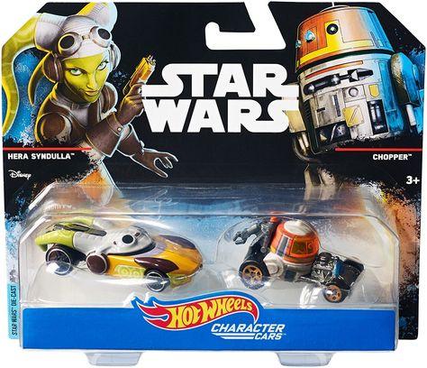 2014 Disney Hot Wheels Star Wars Rebels Chopper Droid Sealed in Package